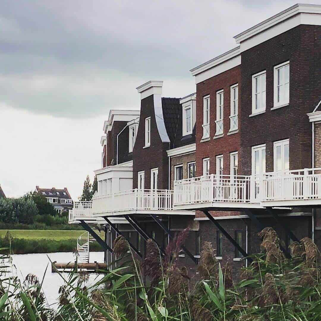 Nieuwbouw woningen Stadskade Westergouwe in Gouda