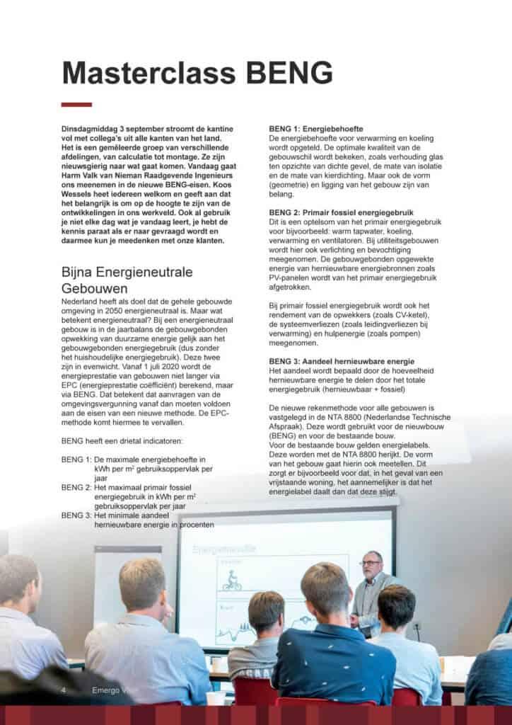 Artikel BENG_Emergo Incompany door Nieman