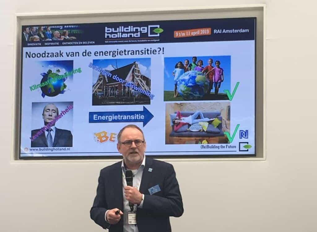 Harm Valk over de energietransitie Building Holland 2019