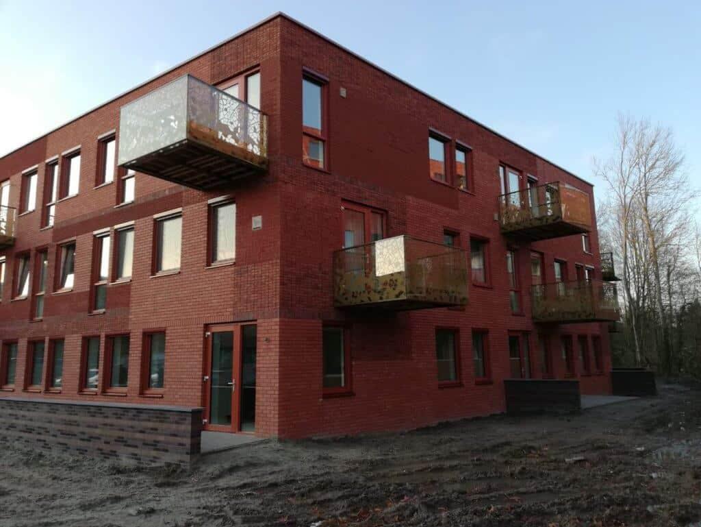 Woongebouw Atlantis in Groningen
