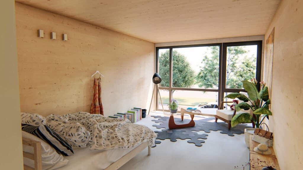 Impressie interieur Finch Buildings Alkmaar