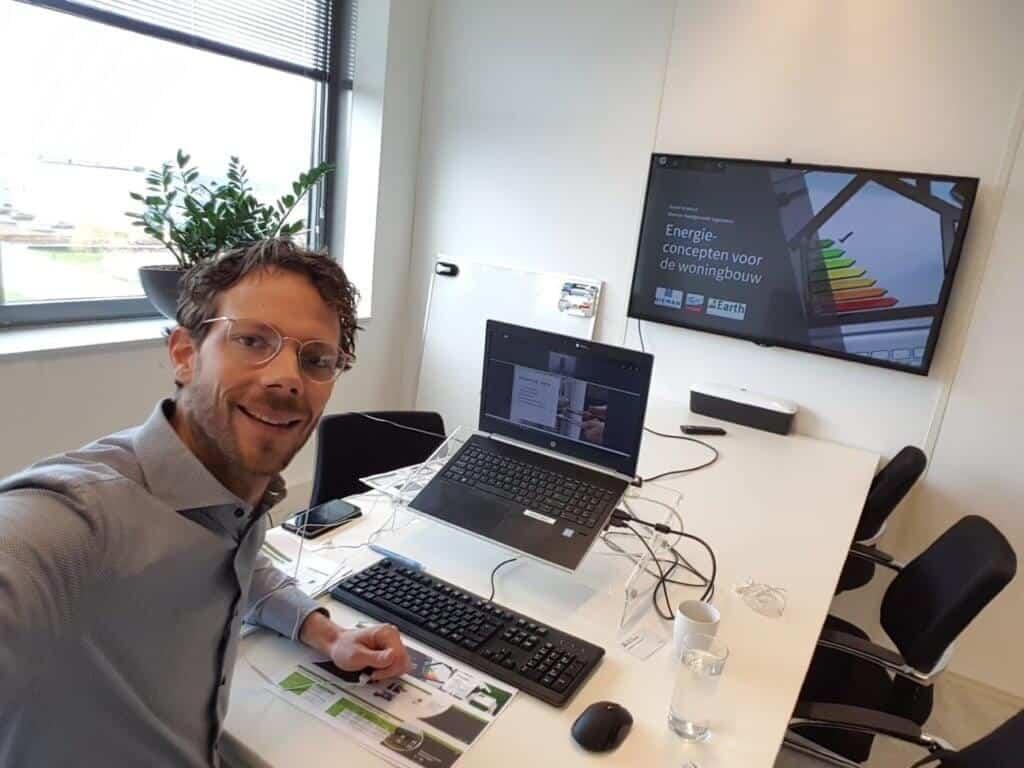 André Kruithof geeft online training 1 april 2020