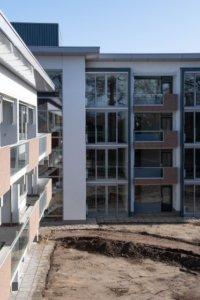 Bouwfoto renovatie De Klokkenbelt Almelo