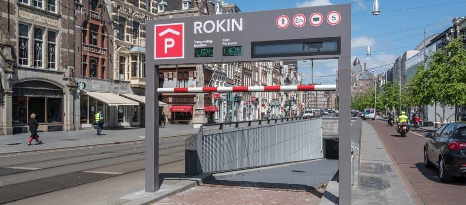 Parkeergarage Rokin Amsterdam