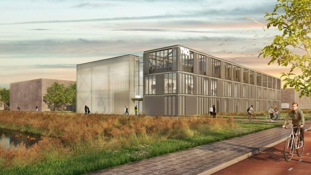 TNO MEC labs Delft-impressie Group A