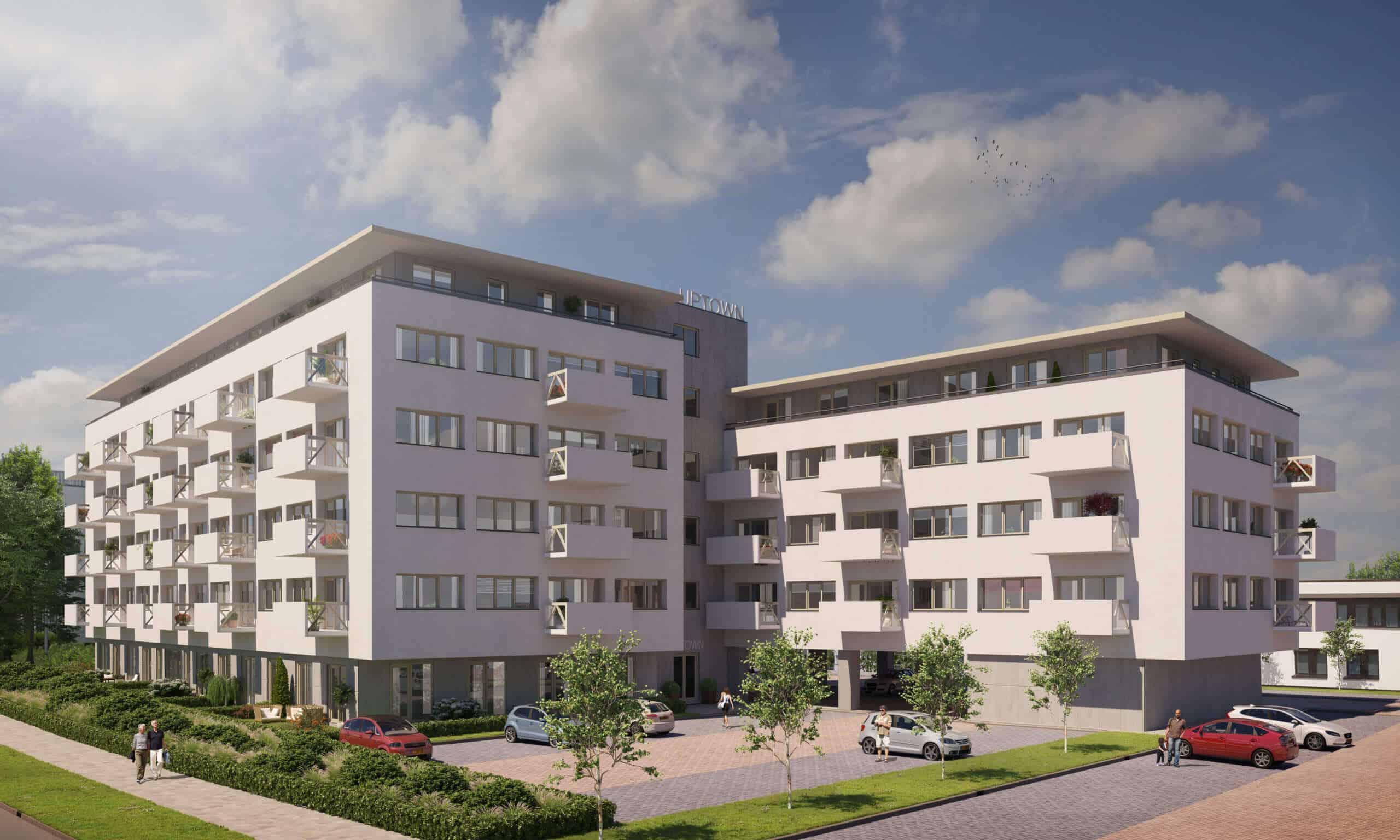 Hippe-appartementen-Uptown Zwolle