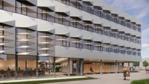 Next Delft exterieur gevel entree