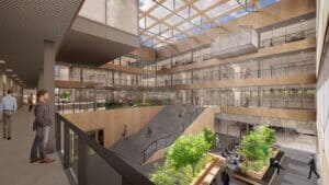 Next Delft interieur atrium