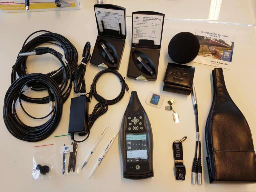 Niemans nieuwste 2270 geluidmeetsysteem