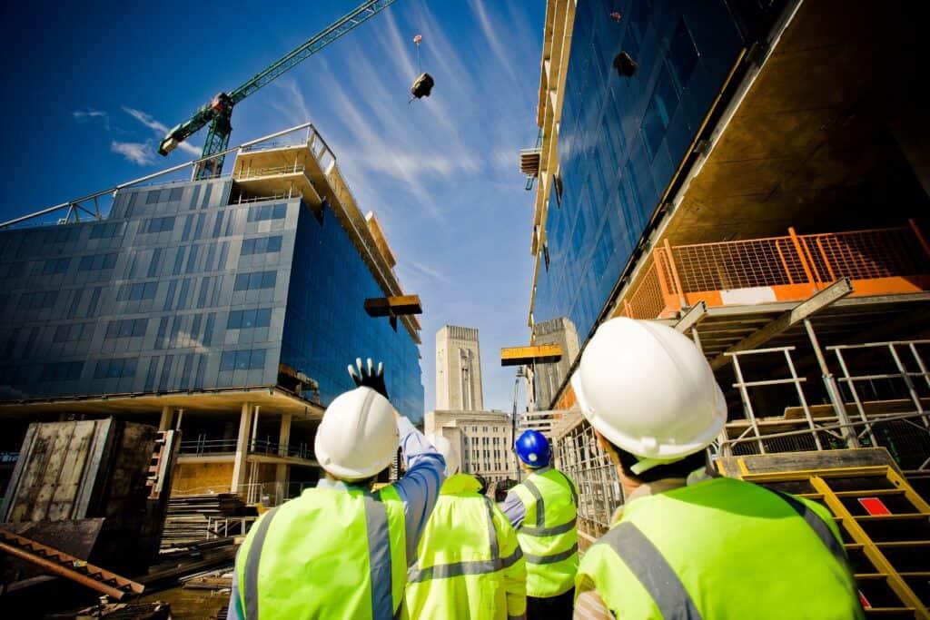 veiligheidsafstanden op de bouw
