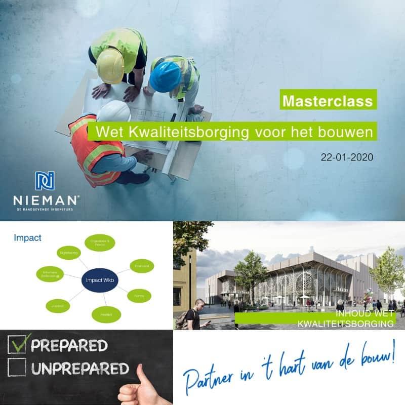 Masterclass Wet kwaliteitsborging voor het bouwen bij BAM 22-01-2020
