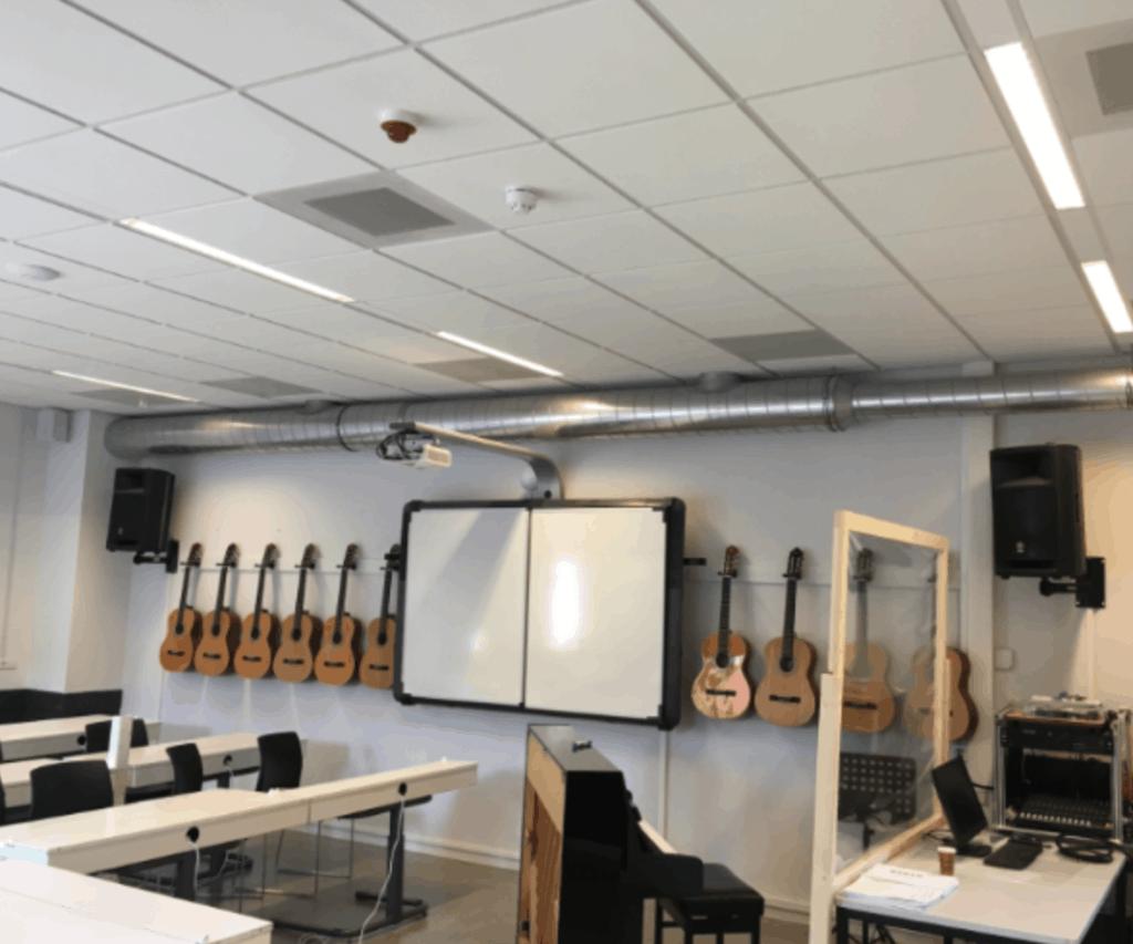 Update: risico's corona in gebouwen