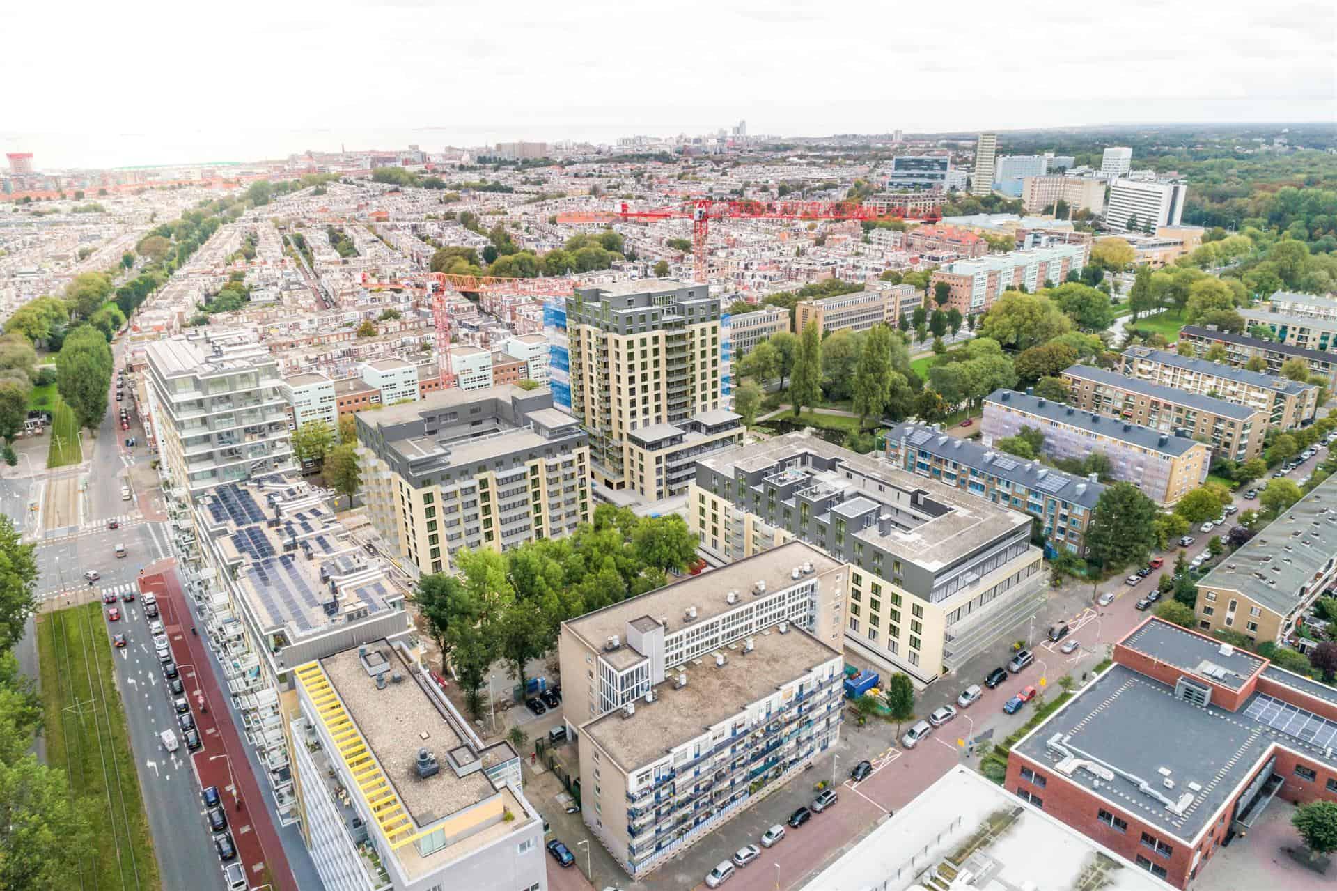 Stadhouders Den Haag birdview