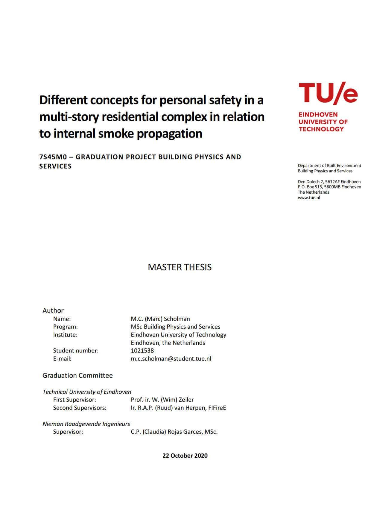 Final thesis Marc Scholman, oktober 2020