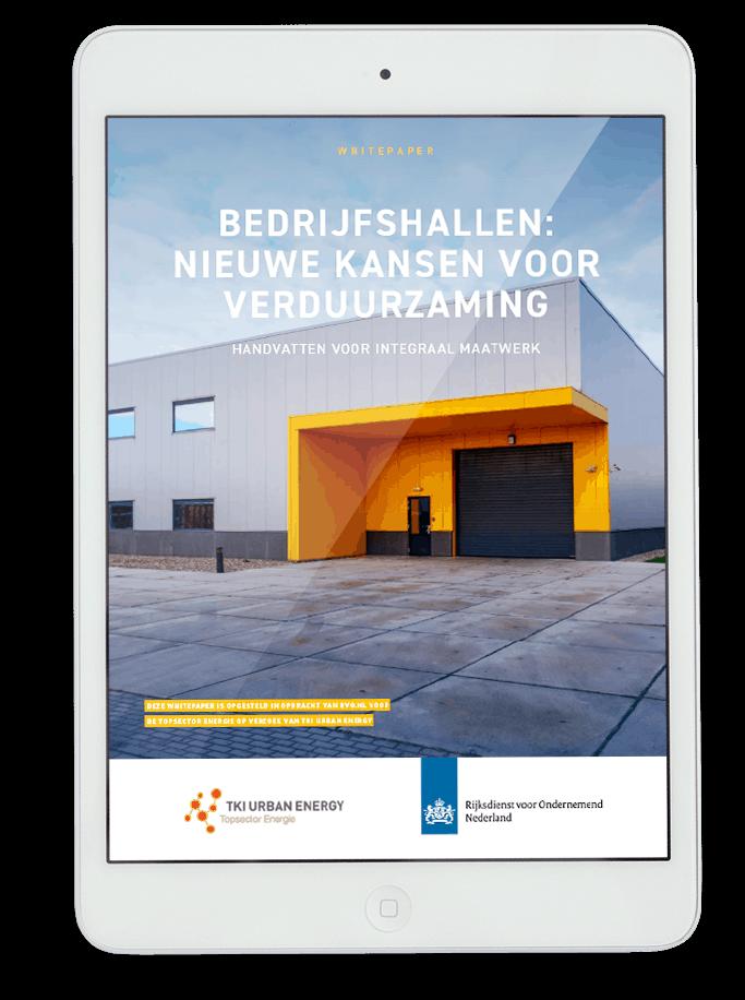 Whitepaper Bedrijfshallen door Nieman voor RVO en TKI Energy 11-2020