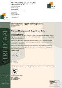 Nieman Raadgevende Ingenieurs B.V. SKW.012094.01.NL