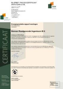 Nieman Raadgevens Ingenieurs B.V. SKW.012093.01.NL
