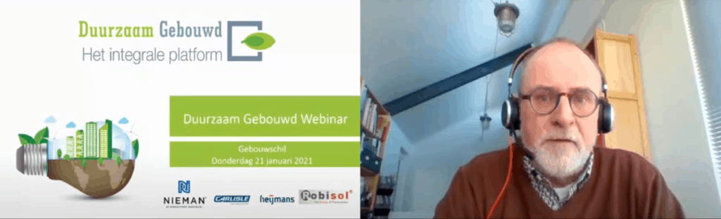 Webinar Gebouwschil met Harm Valk als moderator