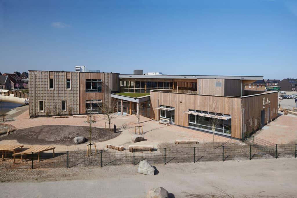 Biophilic school De Verwondering Almere, ontwerp Orga architect. Foto:Ronald Auee