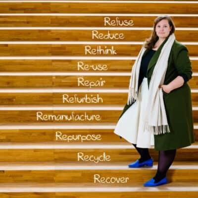 Anne Struiksma op de circulariteitsladder