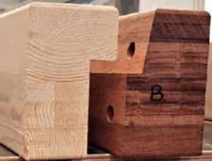 Detail hergebruik hout