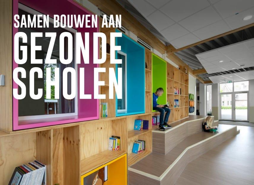 Samen bouwen aan gezonde scholen