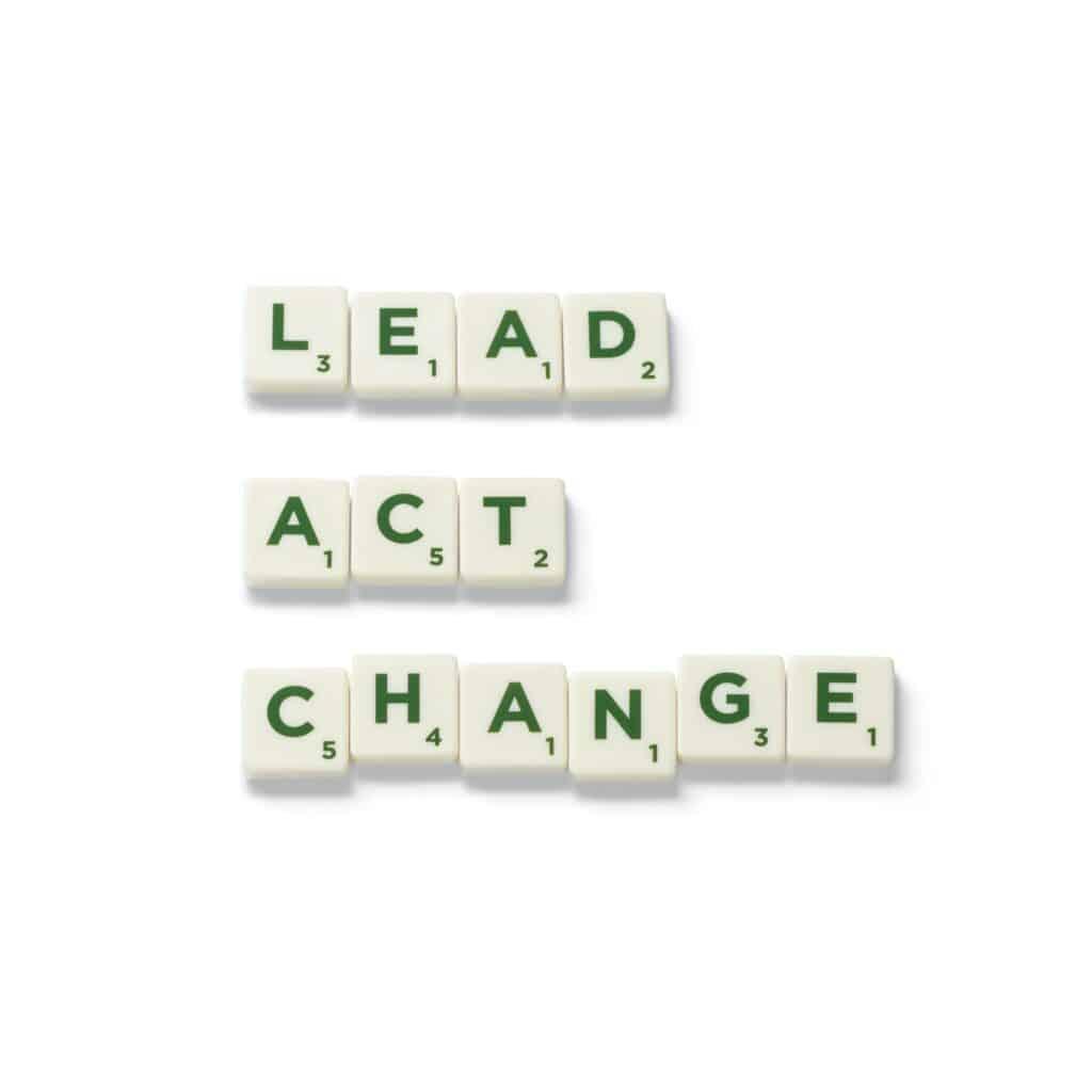 Lead-act-change